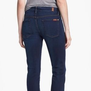 7 for all mankind skinny bootcut jeans 29× 34